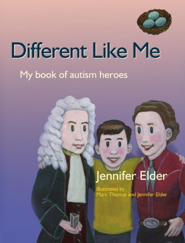 Cover of Different Like Me, My Book of Autism Heroes