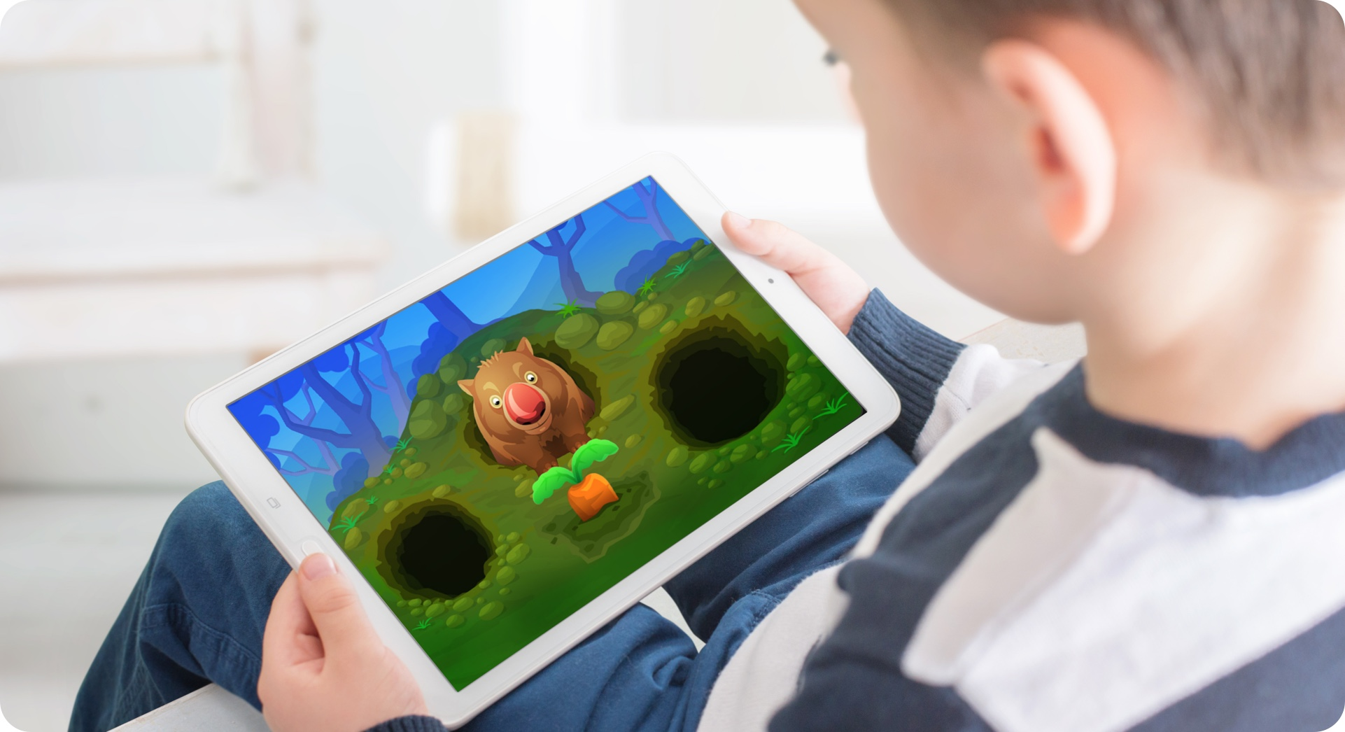 TALi DETECT attention iPad and tablet app game for children