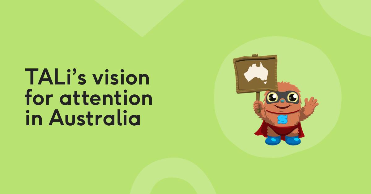 TALi's vision in Australia