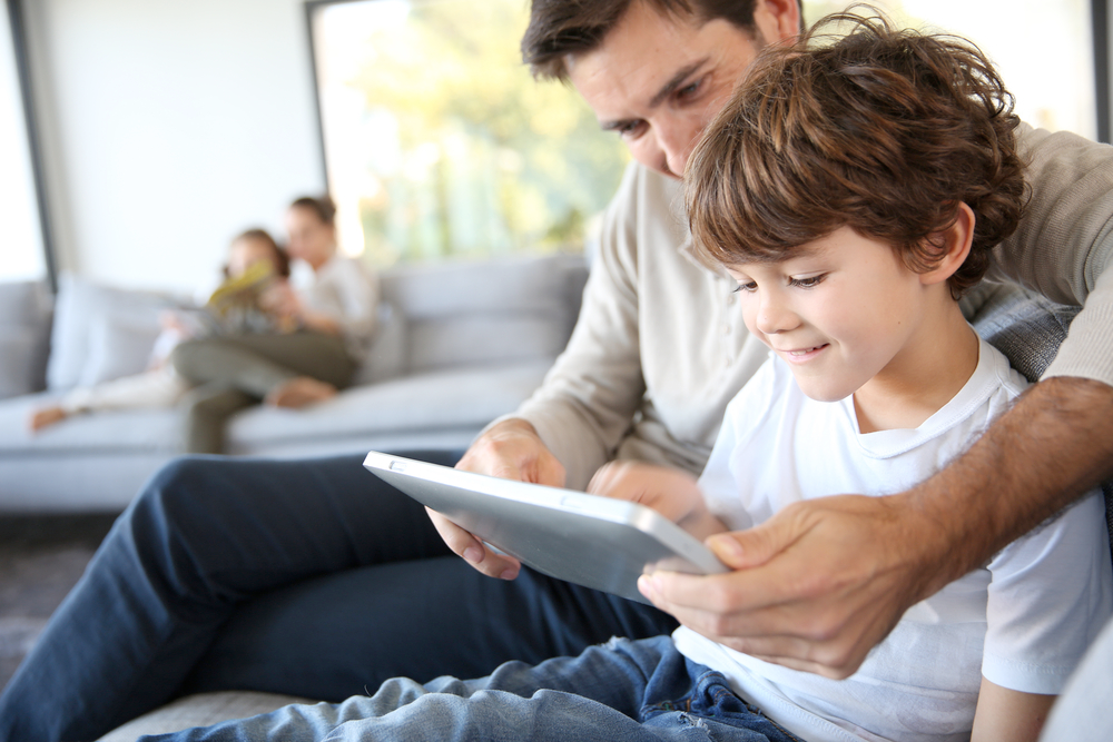 Teaching children good technology habits