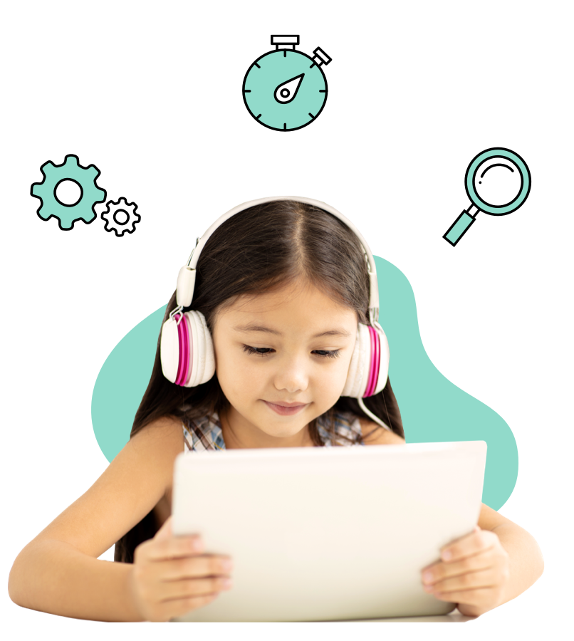 TALi DETECT assesses three key areas of attention using seven fun and engaging activities that a child plays on a tablet device (iPad/Android devices).