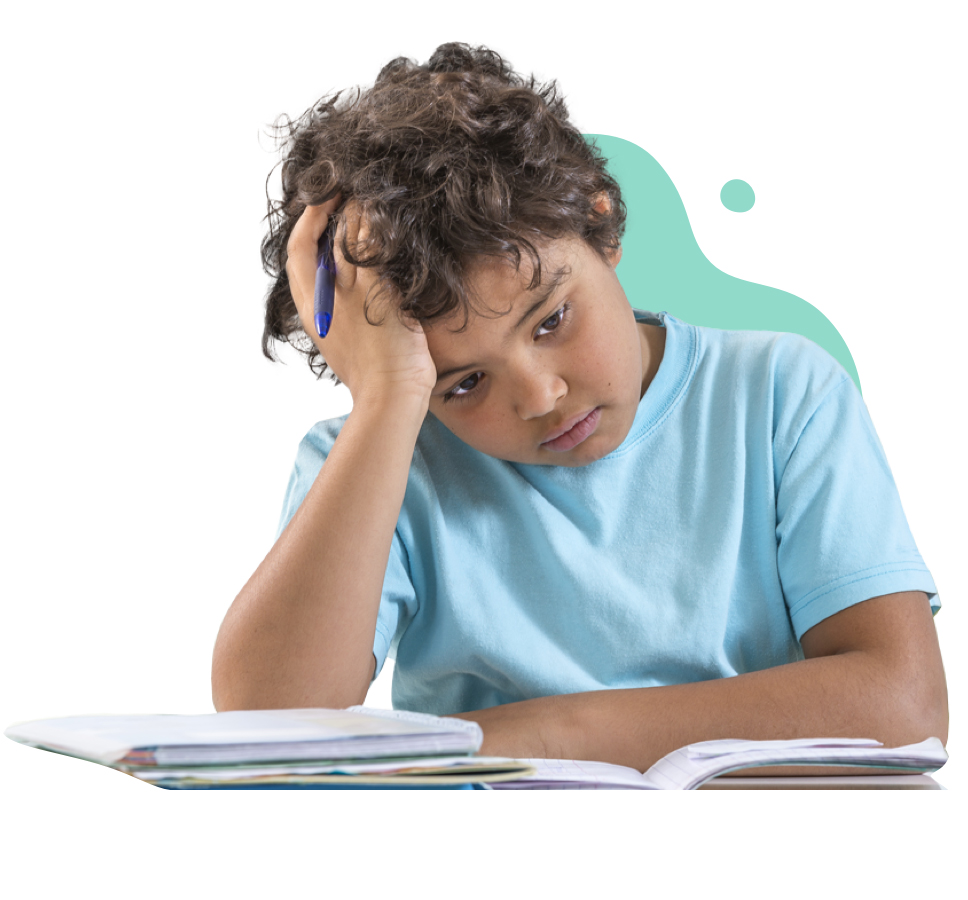 Children with attention problems can experience a variety of issues such as trouble focussing, problem-solving and managing information, as well as difficulty sitting still, waiting their turn and acting without thinking.