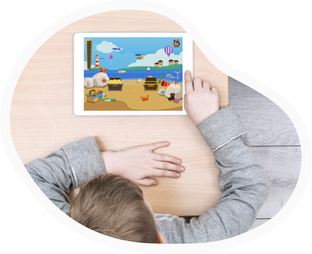 TALi TRAIN fun attention skills training app for children