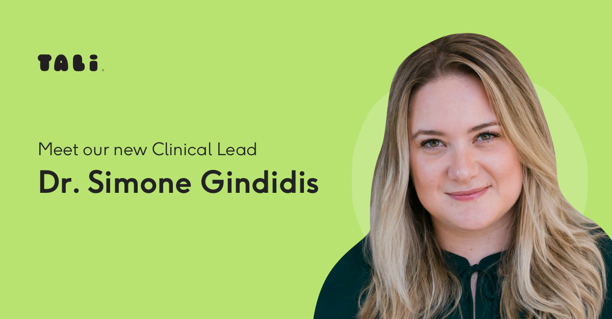 TALi Health Clinical Lead: Dr Simone Gindidis